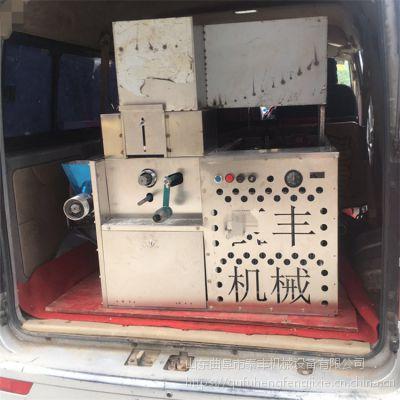 新款柴油一键启动膨化机 六用四缸电喷混合杂粮麻花机 绿豆畅销