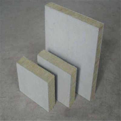 防火隔离带竖丝岩棉复合板50mm厚长乐市岩棉板一吨价格