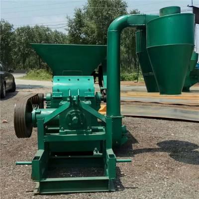 厂家直销自动喂料型粉碎机 多功能沙克龙除尘粉碎机价格