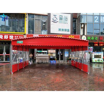 天津市红桥区定制遮阳雨棚布、烧烤大排档帐篷厂家生产
