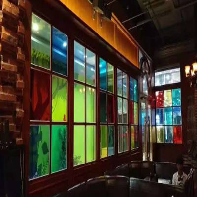 弥勒彩色玻璃-弥勒彩色玻璃报价-狼道玻璃(优质商家)