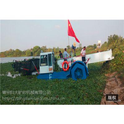 福建福安水草打捞船 收割水葫芦机械有哪些型号
