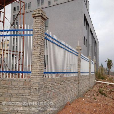 开发区围墙栏杆 厂区外围护栏 市政隔离栏杆