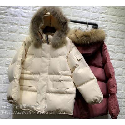 羽绒服批发厂家年底清货便宜长款棉衣外套低价清货杂款棉服