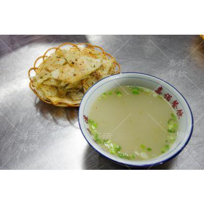 母鸡汤泡饼做法学习 西安早点小吃包子酱香饼培训