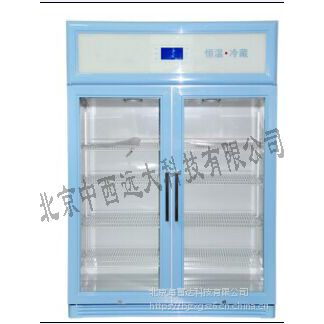 立式双开门冷藏柜(中西器材) 型号:828L 库号:M407585