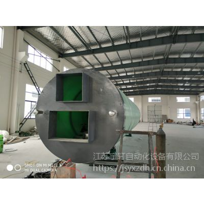 十堰一体化预制泵站新型环保系列产品宇轩厂家