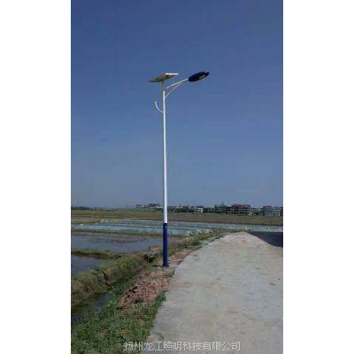 龙江路灯加工定做唐山6米太阳能路灯led全套