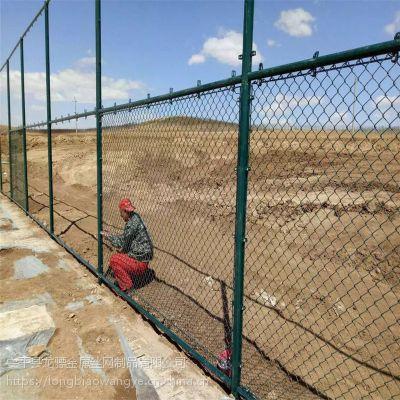 公园篮球场围栏 运动场防护网 隔离铁丝围栏网