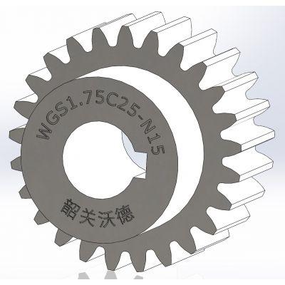 供应标准直齿轮【 M1.75 】,B型,精密齿轮,正齿轮