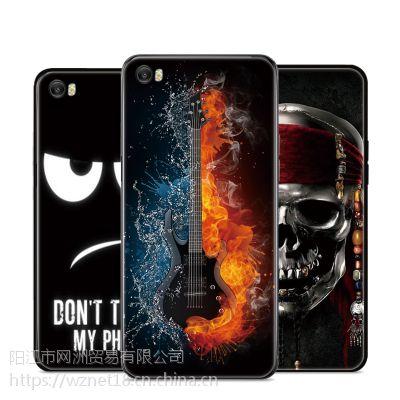 小米5手机壳 彩绘卡通手机保护套m5防摔保护套男女潮壳 磨砂软壳