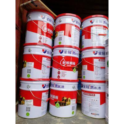地产工程套房室内外装修涂料外墙抗裂弹性调色乳胶漆厂家供应