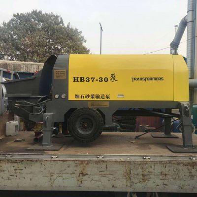 hb-37 30细石混凝土泵功率 30砂浆混凝土泵 万尚宇机械