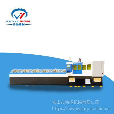 金属管材切割成型设备制造商纬扬机械全新产品FL120激光切管机