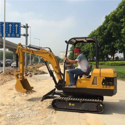 厂家直销小型挖掘机 20型履带式挖掘机金林