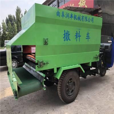 柴油撒料机厂家 大马力大容量柴油撒料机 润丰