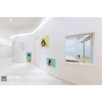 杭州环保绿色早教中心装修案例-国富装饰
