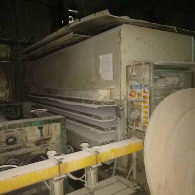 7成新 山西秋林产 4x8尺3层200吨 二手贴面热压机 低价出售