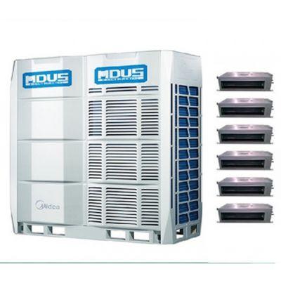 北京美的多联机 中央空调多联机组 商用中央空调厂家安装 美的空调室外机组