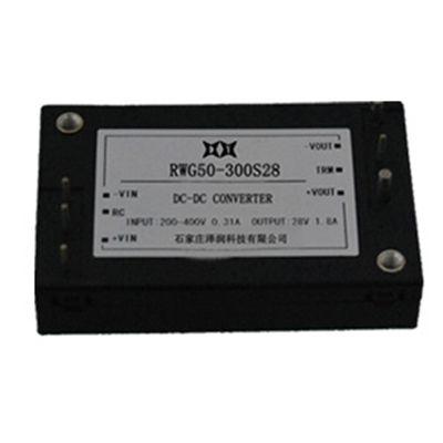 厂家供应四分之一砖RWG50-100W系列DCDC电源模块