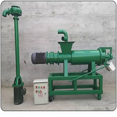 斜筛式粪便脱水机 自动抽粪的固液分离机 猪粪牛粪分离机
