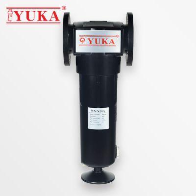 YUKA宏日嘉旋风式气水分离器WS1000压缩空气过滤器除水