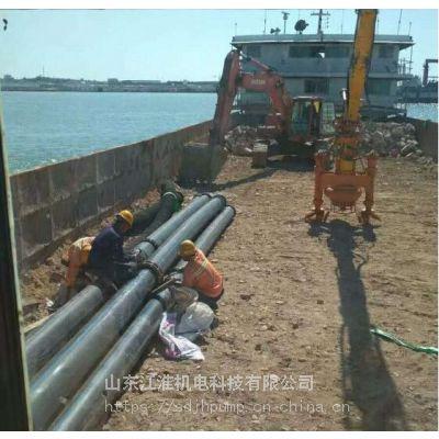 挖掘机耐磨渣浆泵 勾机造桥筑路专用抽沙泵型号齐全江淮泵业