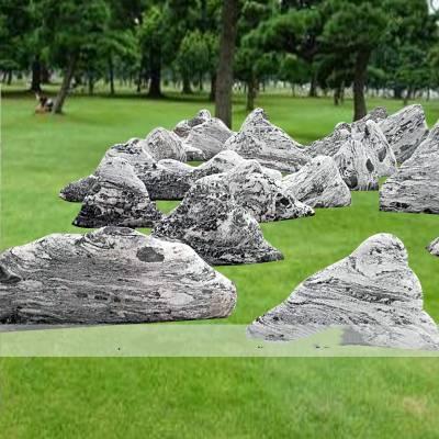 石雕雪浪石风景石天然纹理大理石园林景观石刻字雕刻雪浪石切片组合假山石摆件曲阳万洋雕刻厂家定做