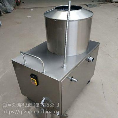 土豆清洗去皮机产量多大 江苏土豆清洗去皮机