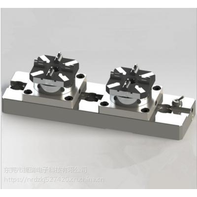 【厂家直销】erowa夹具D100型2头CNC四爪气动卡盘(配多用途底板)