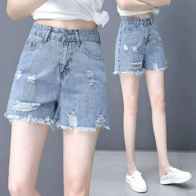 四川服装厂家大量积压牛仔短裤处理 便宜低至6元牛仔短裤批发