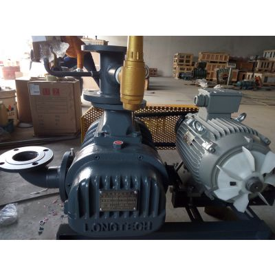 罗茨鼓风机,台湾龙铁进口罗茨鼓风机LT-100压送型鼓风机