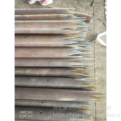注浆管 注浆钢花管 厂家直供声测管