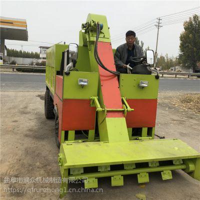 宽幅1.8米养殖清粪车 升级版省油刮粪车 全液压控制清粪车