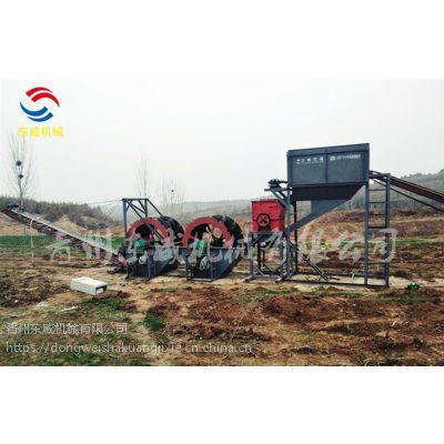 武穴DW-破碎洗砂机直接完成制沙作业省心省力