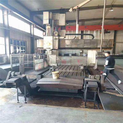 工厂处理一批旧龙门加工中心4.2x3.2米凹陷数控龙门铣床