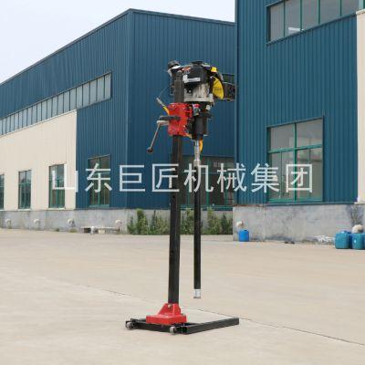 巨匠专用生产的BXZ-2L背包钻机升级款钻的更深效率更高地质勘探取芯设备