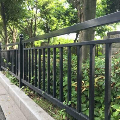 深圳路边防护栏杆 佛山甲型隔离栏 行人防撞栏