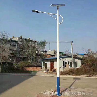德州新款太阳能庭院灯厂家-led路灯灯杆厂家