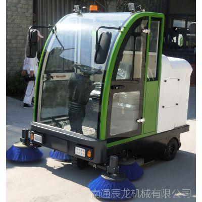 新型科技节能环保保洁环卫电动驾驶式扫路机、道路清扫车、扫地机