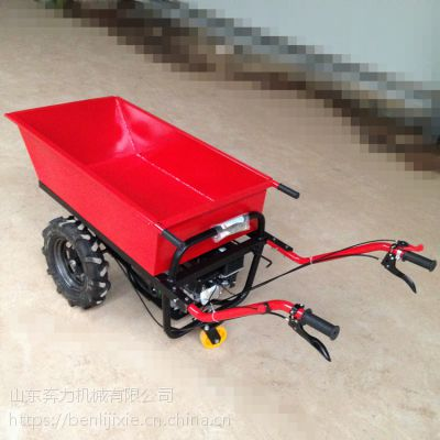 坑洼小路运货车 农用烧油的小型推车 奔力SL-K03