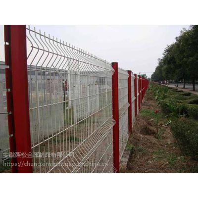 安徽庐江 巢湖道路护栏网 球场围栏 养殖围网 园林围栏 小区隔离网 草坪PVC护栏