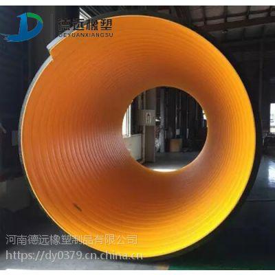 南阳1200mm管径钢带波纹管用于水利输水排水工程