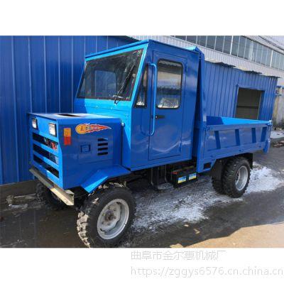 四轮柴油工程车常柴四驱先进型四不像 工程用 农用转场汽刹运输车 动力强劲
