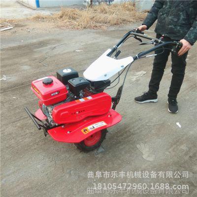 家用小型果园松土旋耕机 水旱两用小型柴油旋耕机