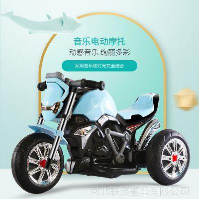 儿童电动车儿童电动摩托车 三轮车男女童车小孩玩具车电瓶车可坐