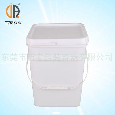 厂价直销18L塑料方桶包食品包装桶 质量保证欢迎惠购