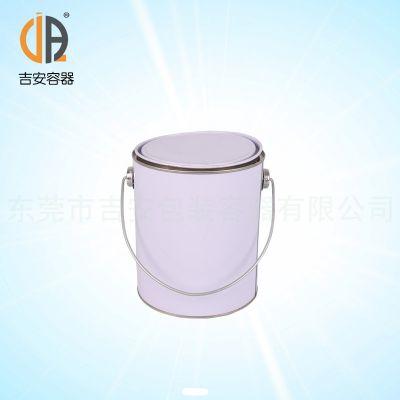 厂价直销大量2L涂白铁罐 化工包装铁罐价格优惠