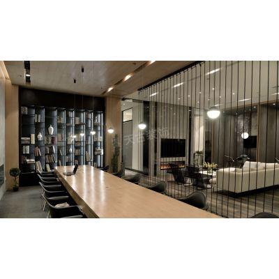 天古装饰茶园店面地址装修实景图|现代风格设计