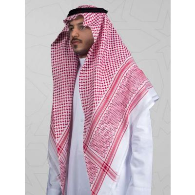 2019新款式阿拉伯丝光棉头巾Arabian mercerized cotton scarf